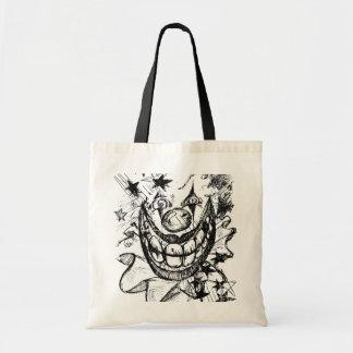 Evil Clown Tote Bags