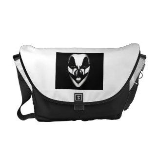 Evil clown Bag Courier Bags