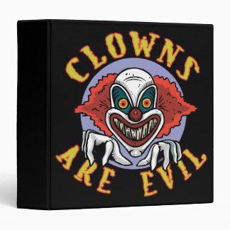 Evil Clown Binder