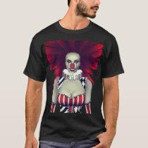 Evil Clown Chick T-Shirt