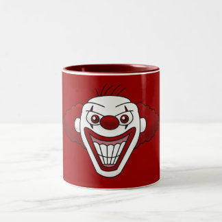Evil Clown Coffee Mug