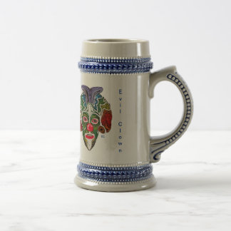 Evil Clown Collection (EC) Beer Stein