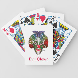 Evil Clown Collection (EC) Bicycle Playing Cards