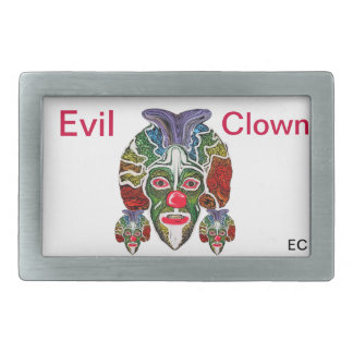 Evil Clown Collection (EC) Rectangular Belt Buckle
