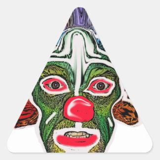 Evil Clown Collection (EC) Triangle Sticker
