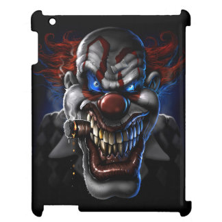 Evil Clown Face Case For The iPad