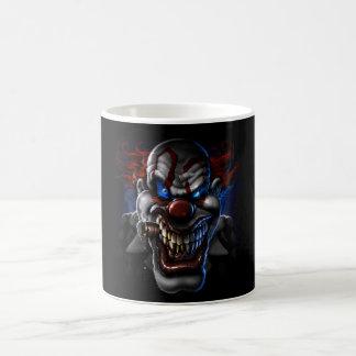 Evil Clown Face Coffee Mug