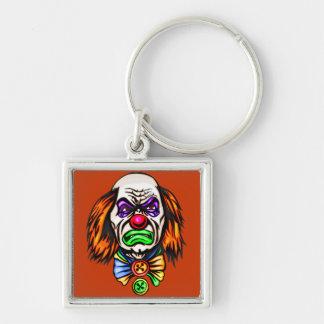 Evil Clown Face Keychains