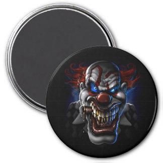 Evil Clown Face Refrigerator Magnets