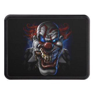 Evil Clown Face Hitch Covers