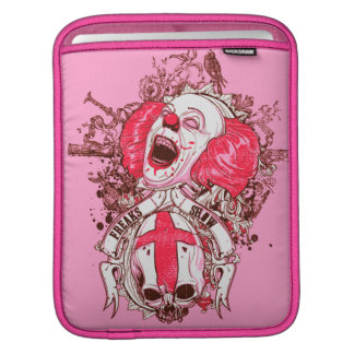 Evil clown sleeves for iPads