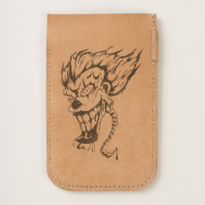 Evil clown iPhone 7 and iPhone 6/6s Phone Pouch