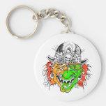 Evil Clown Keychains