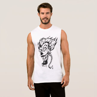 Evil clown Men's Ultra Cotton Sleeveless T-Shirt