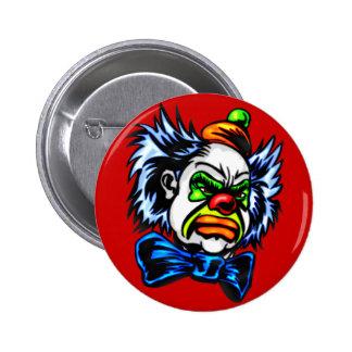 Evil Clown Murders 2 Inch Round Button