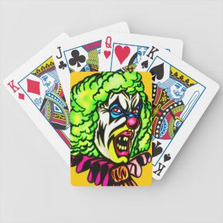 Evil Clown Playing Cards