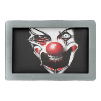 Evil Clown Rectangular Belt Buckle