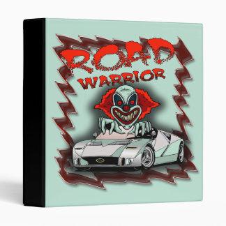 Evil Clown Road Warrior Avery Binder