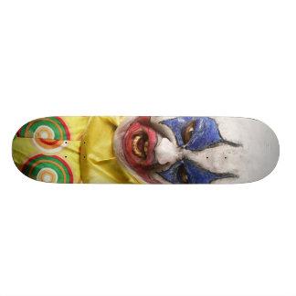 evil clown skate board deck