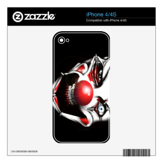 Evil Clown Skins For The iPhone 4