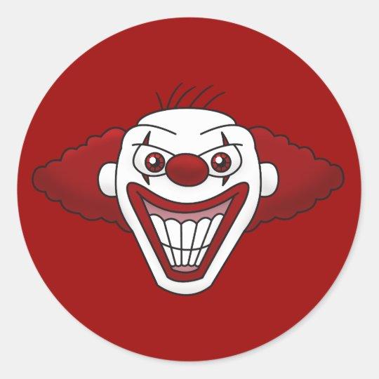 Evil Clown Stickers