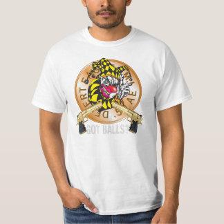 Evil Clown T Shirt Desert Eagle Tiger
