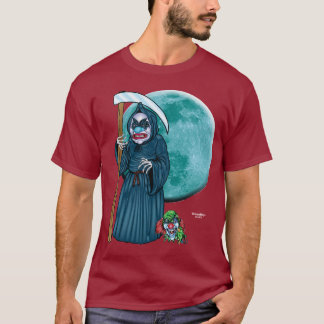 Evil Clown T Shirt - Grim Reaper