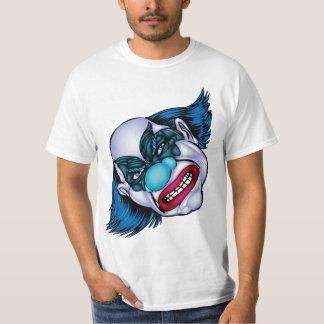 Evil Clown T Shirt - Mascot Design - On White