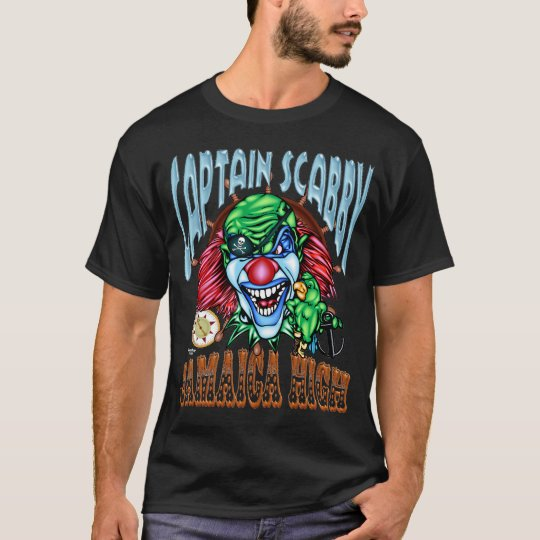 Evil Clown T Shirt - Pirate