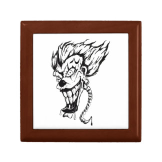 Evil clown Tile Gift Box