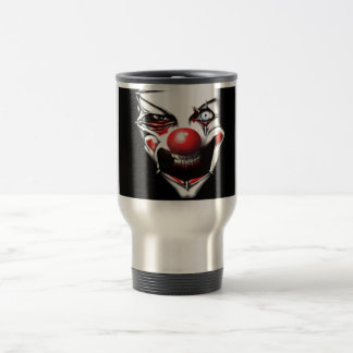 Evil Clown Travel Mug
