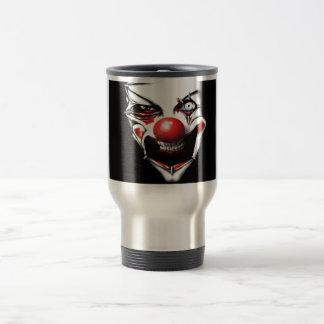 Evil Clown Travel Mug