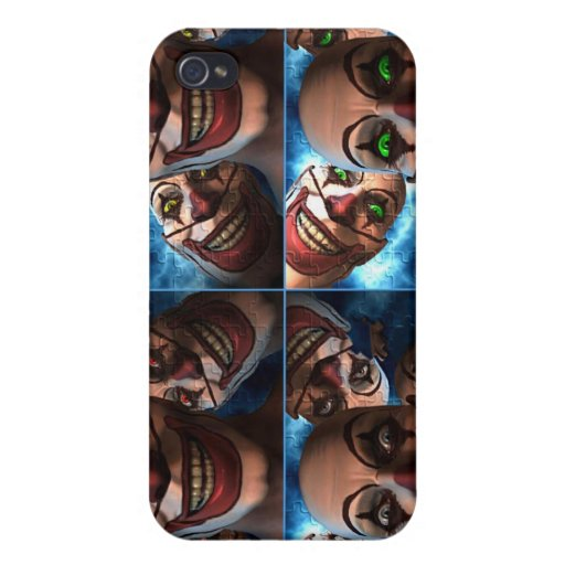 Evil Clowns iPhone 4/4S Covers