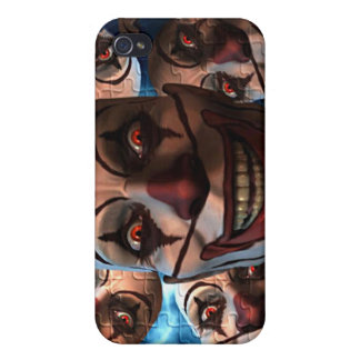 Evil Clowns iPhone 4 Cover