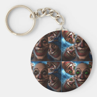 Evil Clowns Keychain