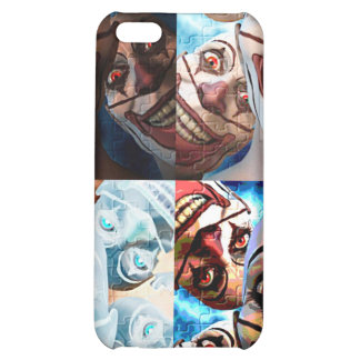 Evil Clowns Trick or Treat? Case For iPhone 5C