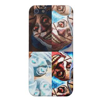 Evil Clowns Trick or Treat? iPhone 5 Case
