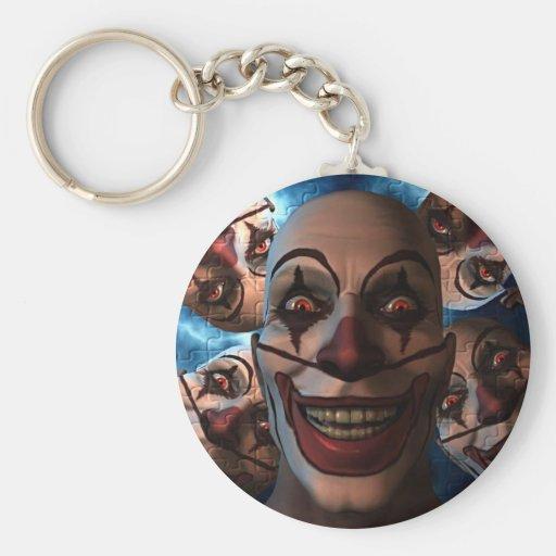 Evil Clowns - Trick or Treat! Key Chain