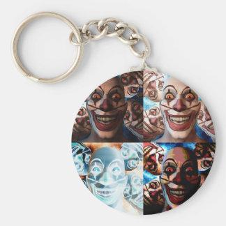 Evil Clowns Trick or Treat? Keychain
