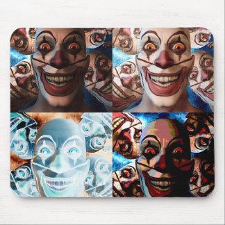 Evil Clowns Trick or Treat? Mousepads