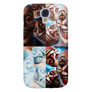 Evil Clowns Trick or Treat? Samsung Galaxy S4 Case
