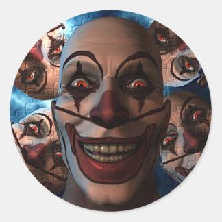 Evil Clowns - Trick or Treat! Stickers