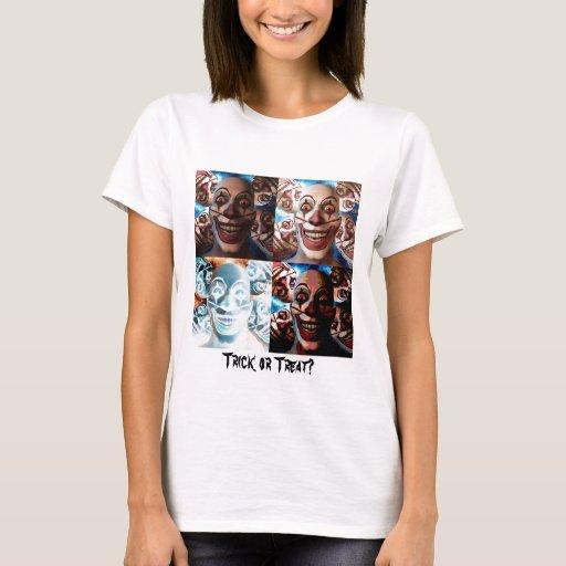 Evil Clowns Trick or Treat? T-Shirt