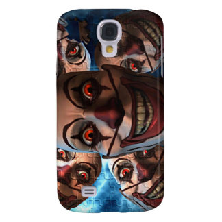 Evil Clowns with Bulging Eyes Galaxy S4 Cover