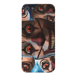 Evil Clowns with Bulging Eyes iPhone 5 Cover