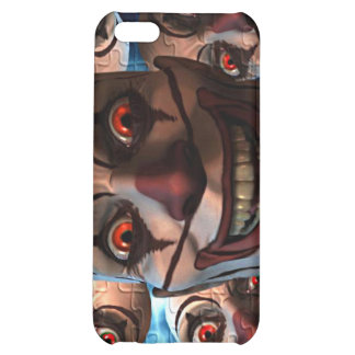 Evil Clowns with Bulging Eyes iPhone 5C Case