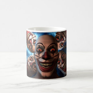 Evil Clowns with Bulging Eyes Mug