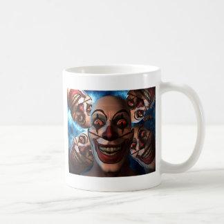 Evil Clowns with Bulging Eyes Mugs