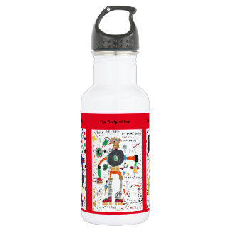 Evil Creatures Stainless Steel Water Bottle