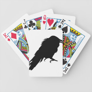 Evil Crow Bicycle Playing Cards